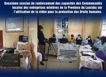Rapport de la deuxième journée, 25 février 2021 à Kolwezi AFREWATCH & NMAP