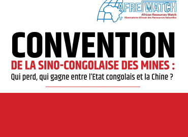 CONVENTION DE LA SINO-CONGOLAISE DES MINES : Qui perd, qui gagne entre l'Etat congolais et la Chine ?