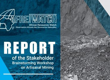 Rapport de l'atelier de réflexion des parties prenantes organisé à Kolwezi