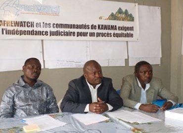 Point de Presse tenue par AFREWATCH et les communautés de Kawama