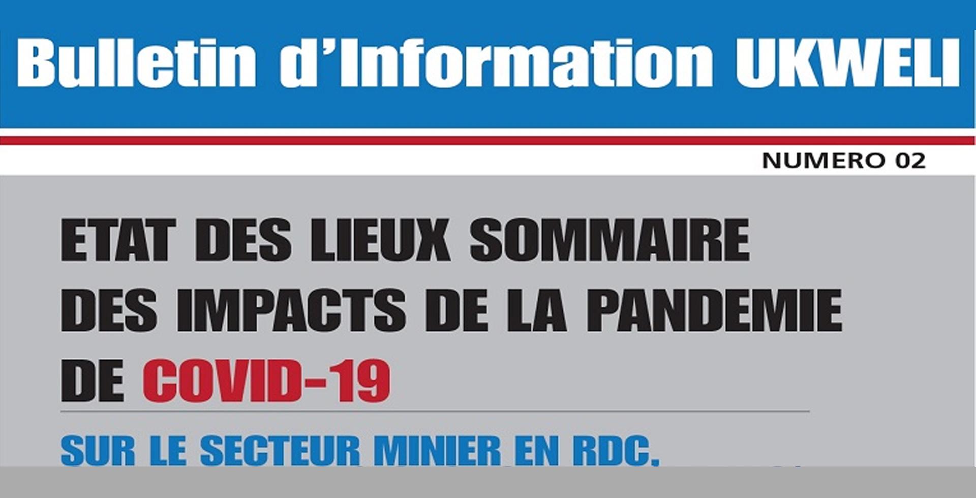 Bulletin d'information UKWELI N°2