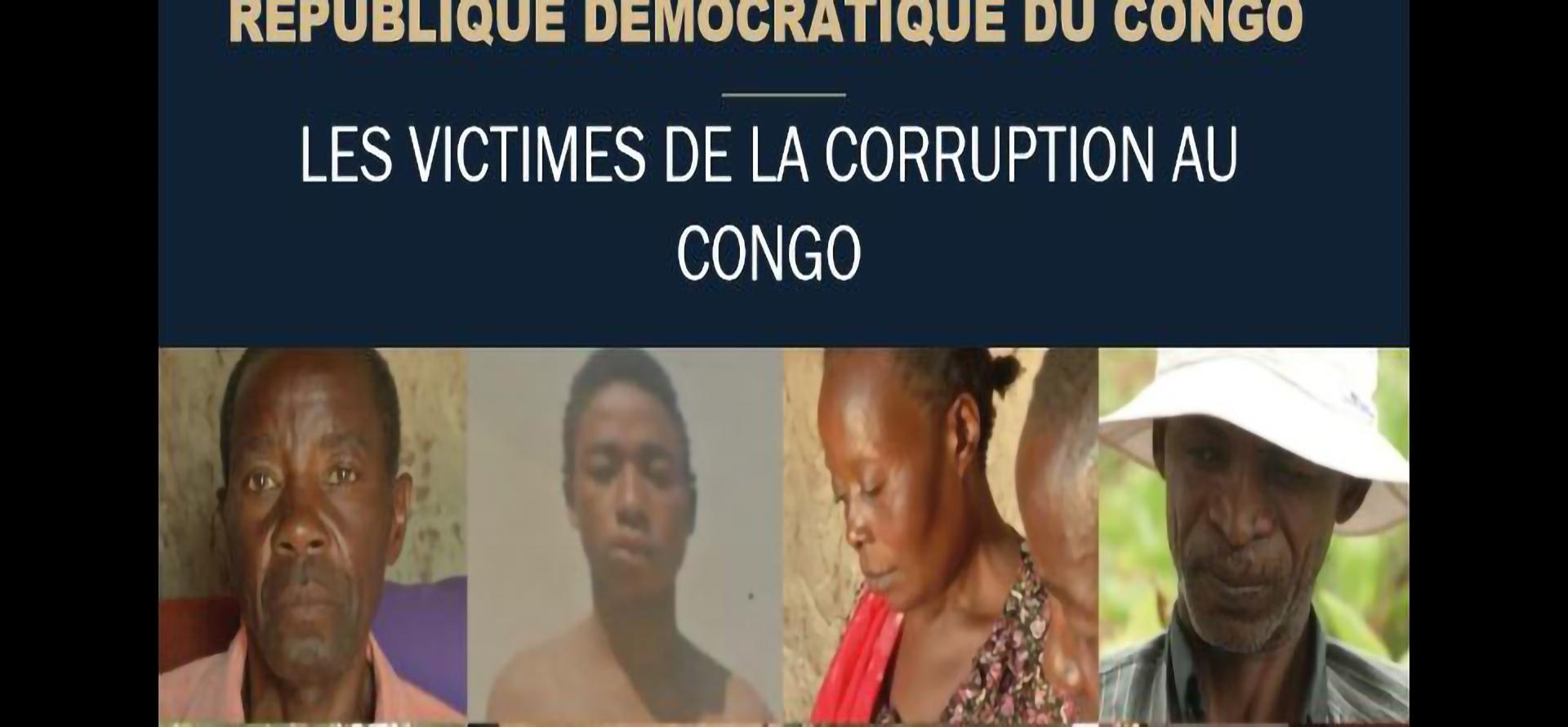 République Démocratique du Congo: les victimes de la corruption au Congo
