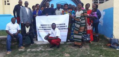 Atelier d'évaluation du projet d'accompagnement des communautés du Lualaba