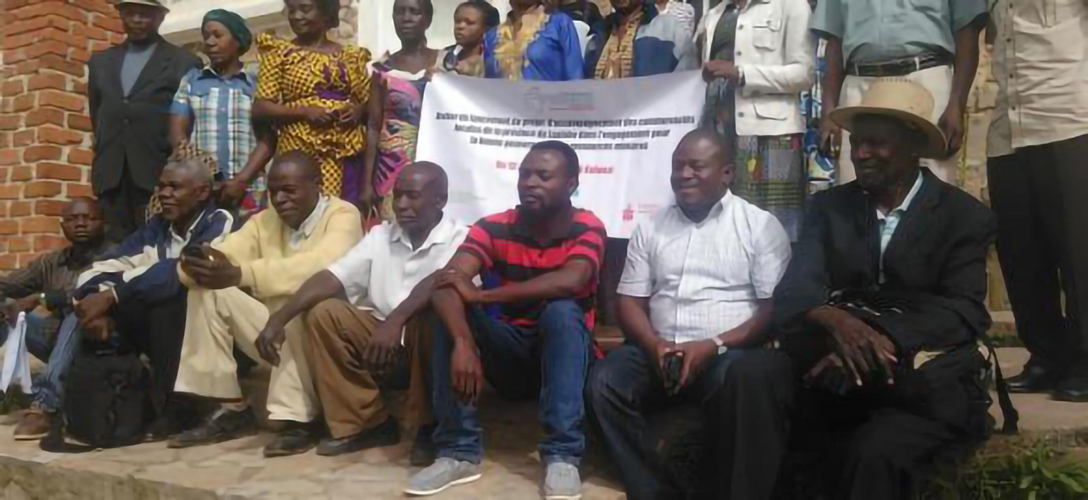Atelier de lancement du projet d' Accompagnement des communautés locales de la province du Lualaba